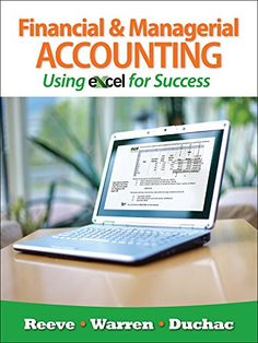 9 best managerial accounting images on pinterest managerial cengagenow with ebook web access for reevewarrenduchacs financial and managerial accounting using fandeluxe Choice Image