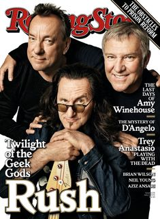 Attention all planets of the Solar Federation: Rush have finally landed on our cover.
