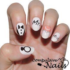 Más de 30 diseños de uñas en color blanco | Decoración de Uñas - Manicura y Nail…