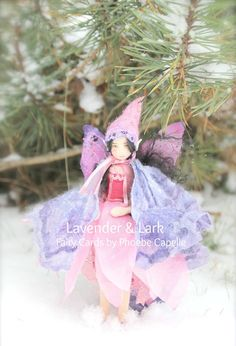 Spell Fairy  Set of 3 Postcards  By Lavender & by Phoebecapelle