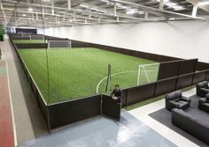 Mansion with indoor soccer field  Check out our indoor soccer field | Our Facility | Pinterest ...
