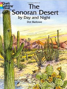 The Sonoran Desert by Day and Night (Dover Nature Coloring Book) by Dot Barlowe http://www.amazon.com/dp/0486423697/ref=cm_sw_r_pi_dp_pV3Wtb114AKXM8JF