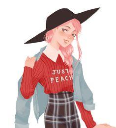 Punziella (reminds me of Character Drawing, Character Illustration, Illustration Art, Pretty Art, Cute Art, Manga Art, Anime Art, Punziella, Wow Art