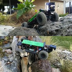 BIGCrawler playing in the backyard after a crawlspace inspection. #homeinspector #homeinspection #realestate #RE #realtor #centralvalleyrealestate #cvar #drones #drone #deadbolt #crawlspace #scx #axialracing #deadbolt #fpv #fpvracing #rccrawler #rc #3d #3dprinted #3dprinting #BIGcrawler #modesto #modestorealestate