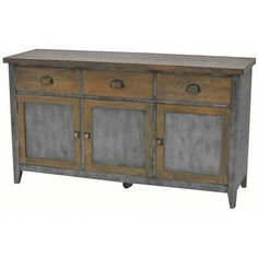 The antique iron & timber sideboard exhibits pure attention to details. Beautifully crafted from mango wood and matte antique iron this piece would suite both modern and traditional homes Wood, Living Furniture, Rustic Furniture, Wood Storage, Timber, Traditional House, Timber Furniture, Mango Wood, Timber Sideboard