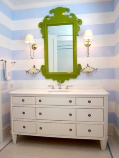 Charleston Mirror Parakeet - Oomph | domino.com