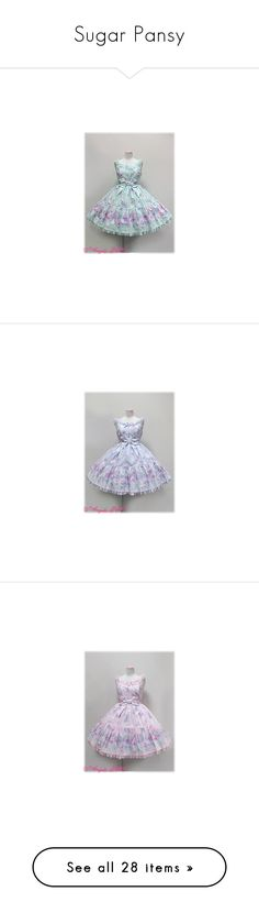 """Sugar Pansy"" by ghiraham-sandwich ❤ liked on Polyvore featuring angelic pretty, jsk, dresses, lolita, sugar pansy, skirts, pink skirt, legwear, intimates and hosiery"