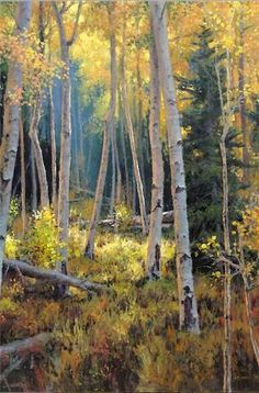 """The Aspen Glade"" by Michael Godfrey"