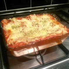 """Mexican Poblano, Spinach, And Black Bean """"Lasagne"""" With Goat Cheese..."""