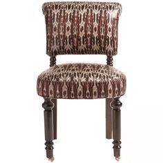 Vintage Abaca Leaf Chair
