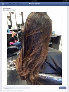 Hairpainting, natural haircolor