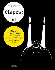 Étapes Magazine N ° 229 Couverture, 2016  Mrzyk & Moriceau