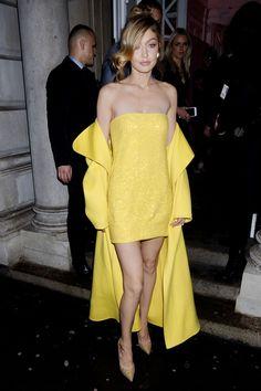 Gigi Hadid in Ralph Lauren - Gigi x Maybelline Party, London - November 7 2017