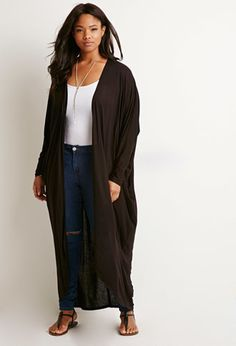 Maxi Dolman Cardigan | Forever 21 PLUS - 2000173235-- For mom