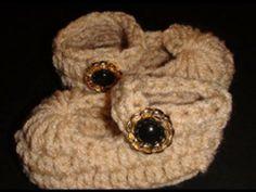 Video Tutorial - Crochet Mary Jane Baby Slipper
