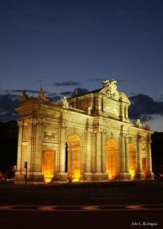 Puerta de Alcalá ~ Madrid, Spain