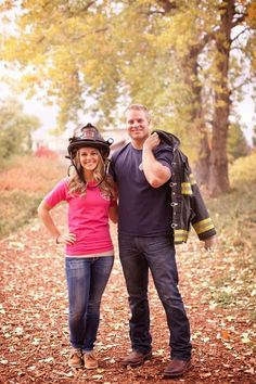Adorable Firefighter Engagement Session by KB DIGITAL.