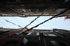 Venice, Italy Photo creds CreateSpace #venice #venezia #italy #street #lookup #minimal_lookup #laundry #hanging #sky #urban #city #life #architecture #photography #urbanphotography #clothes #instapic #clothesline Italy Street, Urban City, Create Space, Clothes Line, Urban Photography, Venice Italy, City Life, Looking Up, Insta Pic
