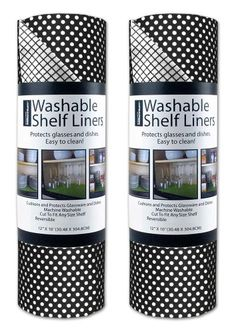 DII Kitchen Millennium Non Adhesive, Smooth Top, Cut to Fit and Washable Shelf or Refrigerator Liner Rolls-12-Inch by 10-Feet, Black, Set of 2 DII http://smile.amazon.com/dp/B00JVMOKJ0/ref=cm_sw_r_pi_dp_E0wkub1V91TT2