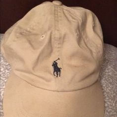 Tan polo hat Real polo brand. Barely worn. Polo by Ralph Lauren Accessories  Hats d771caa792b