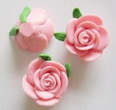 Image result for polymer clay flowers
