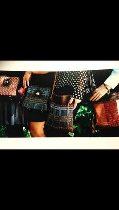 Loomed in 1975 from Geelong wool mill yarns.. Life's just too short to just have a black bag..K&V xx  www.crazyowls.com.au