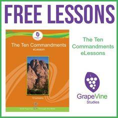 FREE Ten Commandments eLessons - My Joy-Filled Life