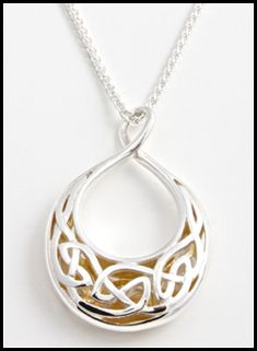 Celtic Window to the Soul Necklace