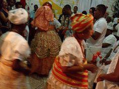 Cerimônia de Candomblé - Salvador-Bahia - Brasil