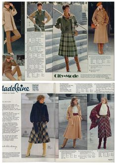 Herbst/Winter-Kollektion 1978.