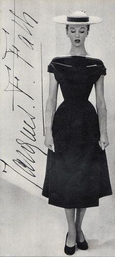 Jacques Fath Dress, 1950