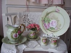 Shabby Cats and Roses: Its Teacup Tuesday #shabbychic