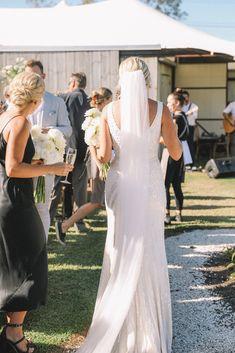Courtney wears the Fontanne dress by Karen Willis Holmes Karen Willis Holmes, Alternative Wedding Dresses, Auckland, Engagement Shoots, Veil, Wedding Photography, Wedding Ideas, Group, Formal Dresses