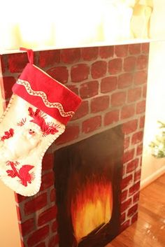 Faux fireplace - @Kendal Carrillo Dennis, would you help me make this?