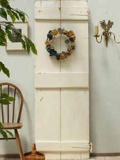 Door イギリスアンティーク白い木製ドア扉ディスプレイ建具1944 インテリア 雑貨 家具 Antique ¥23500yen 〆06月24日