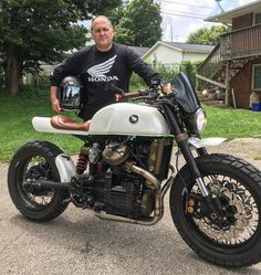 A patron rolled through to show off his freshly finished project. Very nicely put together by a Local builder. I had supplied some old goldwing parts to help the shaft driven accept some spoked wheels. Proud to have a tiny hand in the endeavor. Cx500 Cafe Racer, Cafe Racer Bikes, Cafe Racer Build, Cafe Racers, Honda Bikes, Honda Motorcycles, Vintage Motorcycles, Street Motorcycles, Street Bikes
