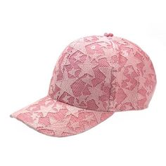 6f6acfa93a94a Stars Pink Color Fashion Caps  CashyFlow  Store