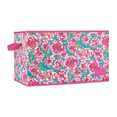 We love these Lilly Pulitzer storage bins--the perfect way to store your things in style!   http://www.dormify.com/closet-and-bath/storage/lily-pulitzer-organizational-bins