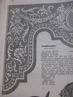 (13) Gallery.ru / Фото #50 - axa 1 - ergoxeiro Filet Crochet Charts, Crochet Doily Patterns, Crochet Borders, Crochet Designs, Crochet Doilies, Crochet Curtains, Tapestry Crochet, Crochet Needles, Crochet Stitches
