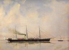 Russian Imperial Yacht Tsarevna (1874).