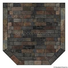 Heritage Standard Hearth Pad - Western Flagstone | WoodlandDirect.com: Hearth Pads