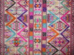 Bhutan Textile Kira Kushutara. Beautiful pattern and colors