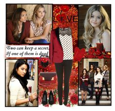 """Alison DiLaurentis and Emily Fields"" by sarasnowbird ❤ liked on Polyvore featuring Episode, Sophie Hulme, Topshop, Dorothy Perkins, Just Cavalli, P.A.R.O.S.H. and Rachel Comey"