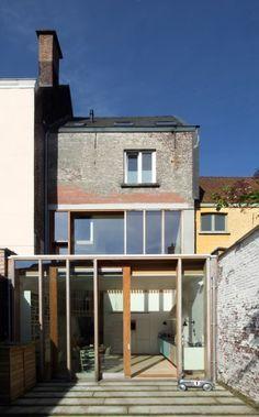 Binnenkijken in huis met weinig ruimte, maar groot ruimtegev... - Het Nieuwsblad