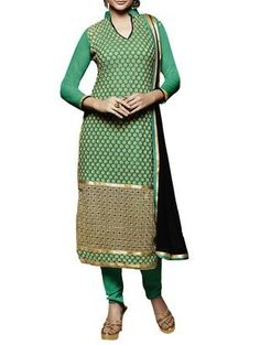 Check out what I found on the LimeRoad Shopping App! You'll love the green chiffon long kurta suits dress material. See it here http://www.limeroad.com/products/10259073?utm_source=cb3eba8cc8&utm_medium=android