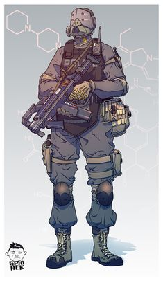 Mikolaj-Spionek-Police-Concept-art-3 by Mikolajj.deviantart.com on @DeviantArt