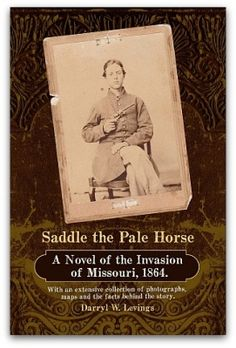 Saddle the Pale Horse, by Darryl Levings ~ Based on real characters and events, Levings follows several characters and groups, both rebel and federal; no one could leave this book without feeling the loss and pain of both sides during this troubled time. Though most of the book is written as a novel, the last third of the book contains maps, pictures, and detailed notes supporting each chapter, for the more enthusiastic historian.