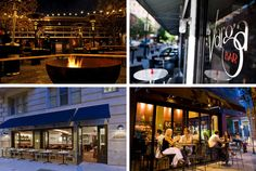 Outdoor dining during cold weather in Philly! Each restaurant has heat lamps or fire pits to keep warm while enjoying some GREAT food! First one on the list - Stephen Starr's new restaurant. Gotta support my family!