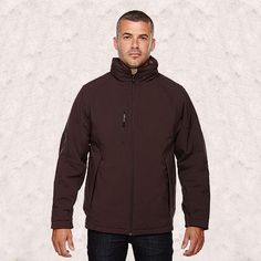 Ash City-North End-Glacier Mens Insulated Soft Shell Jacket With Detachable Hood-88159
