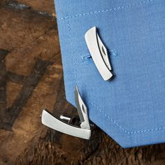 Knife Cufflinks For An Edgy Look